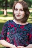 Портрет молодой женщины стоковые фото