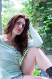 Портрет молодой красивейшей девушки Стоковые Изображения