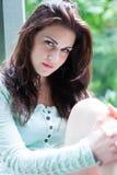 Портрет молодой красивейшей девушки Стоковое фото RF