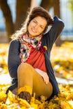 Портрет молодой красивейшей женщины Стоковые Изображения