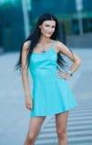 Портрет молодой красивейшей женщины outdoors Стоковая Фотография