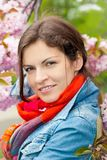 Портрет молодой красивой женщины Стоковые Фотографии RF
