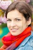 Портрет молодой красивой женщины Стоковые Изображения