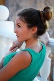 Портрет молодой стильной женщины Стоковые Изображения RF