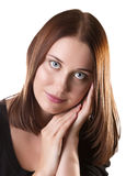 Портрет молодых женщин стоковые изображения
