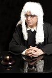 Портрет мужского юриста с eyeglasses Стоковые Изображения