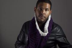 Портрет мужчины афроамериканца стоковые изображения