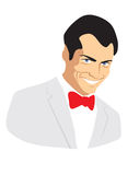 портрет мужчины чертежа Стоковые Фотографии RF