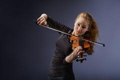 Портрет музыканта Стоковая Фотография RF