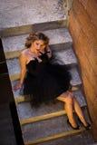 Портрет на шагах Стоковые Фотографии RF