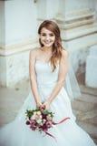 Портрет невесты на природе Стоковая Фотография