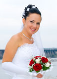 портрет невесты стоковое изображение rf