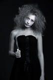 портрет ножа привидения Стоковая Фотография RF