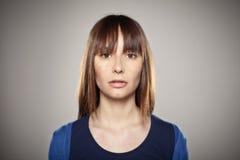 Портрет нормальной девушки Стоковые Изображения RF