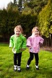 Портрет образа жизни идентичных близнцов Стоковое Фото
