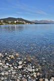 Портрет озера Nahuel Huapi в Аргентине Стоковые Фото