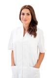 Портрет доктора молодой женщины Стоковая Фотография