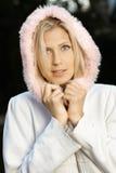 Портрет осени привлекательной девушки Стоковое Фото