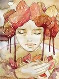 портрет осени бесплатная иллюстрация