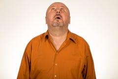 Портрет отчаянного человека Стоковая Фотография RF