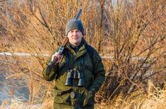 Портрет охотника Стоковое Изображение RF