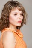 Портрет очарования красивой женщины Стоковая Фотография RF