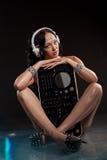 Портрет очарования красивой женщины Стоковая Фотография