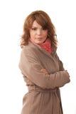 Портрет очарования красивой женщины Стоковое Изображение