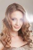 Портрет очарования красивой женщины Стоковые Изображения RF