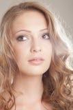 Портрет очарования красивой женщины Стоковые Изображения