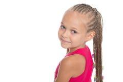 Портрет очаровательной милой девушки Стоковые Изображения