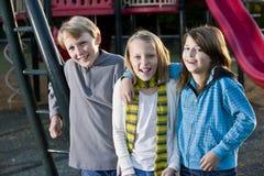 портрет парка детей Стоковое фото RF