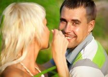Портрет пар влюбленности Стоковые Фото