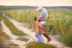 Портрет пар влюбленности Стоковое Фото