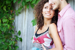 портрет пар счастливый Стоковые Фотографии RF