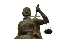 портрет повелительницы правосудия Стоковое фото RF