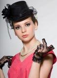 портрет повелительницы шлема стоковое фото