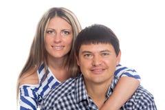 Портрет пожененной пары Стоковые Фото
