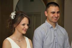 Портрет пожененной пары Стоковые Изображения RF