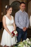 Портрет пожененной пары Стоковое Изображение RF