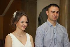 Портрет пожененной пары Стоковые Изображения