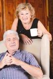 Портрет пожилых пар Стоковая Фотография RF