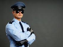 Портрет полицейския Стоковое Изображение RF
