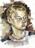 Портрет подростка Стоковое Изображение