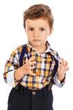 Портрет прелестного мальчика Стоковые Изображения RF