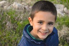 Портрет прелестного мальчика Стоковое фото RF