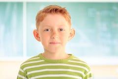 Портрет прелестного молодого студента стоковое изображение rf