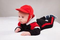 Портрет прелестного младенца стоковая фотография rf