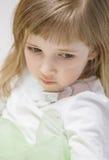Портрет прелестно маленькой девочки Стоковое Изображение
