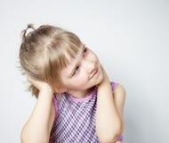 Портрет прелестно маленькой девочки Стоковые Изображения RF